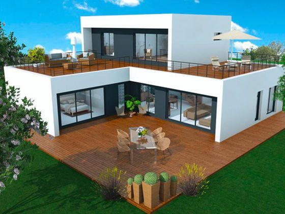Maisons Bois Design Booa N 1 De La Construction Ossature Bois