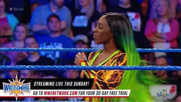 Naomi is determined to make everyone FEEL THE GLOW this Sunday at WWE WrestleMania!