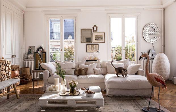 Arredamento classico (moderno) Sale soggiorno piccole