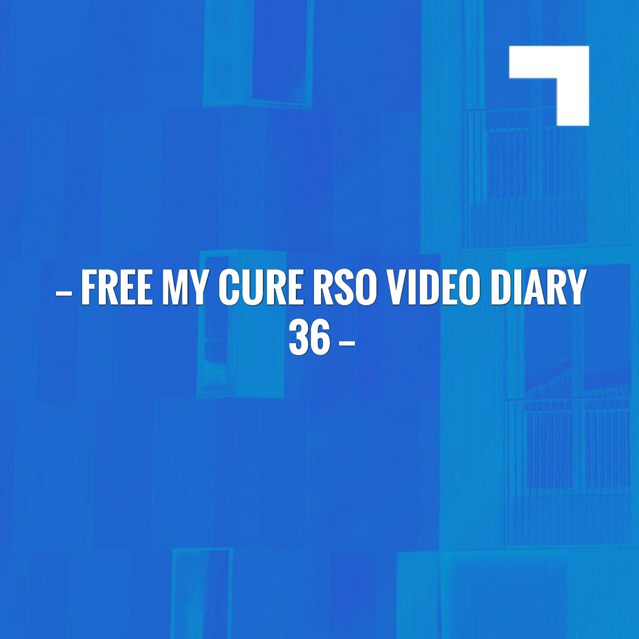 Free My Cure Rso Video Diary 36 Https Freemycure Org 2017