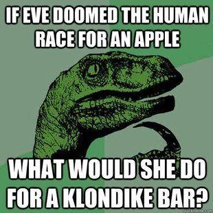 92a766711a3cc9238cd81a4b661f777a do it meme what would you do for a klondike bar meme dinosaur