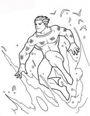 Aquaman coloring page 52  Aquaman coloring book  Pinterest