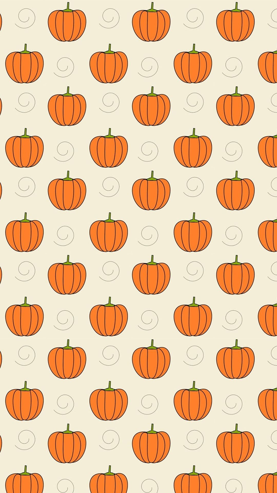 Pumpkins - Tap to see more cute halloween wallpaper! | @mobile9 ...