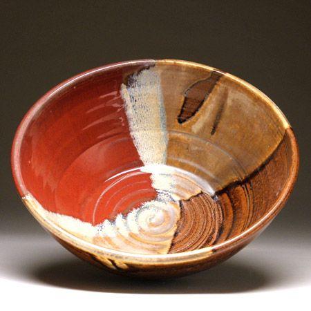 Medium Serving Bowl #potteryglazes