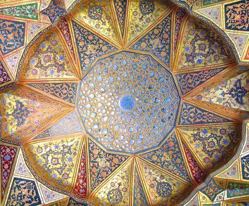 IRAN - ISFAHAN - HASHT BEHESH (8 HEAVEN ) PALACE. By Ottoman & Turkish.