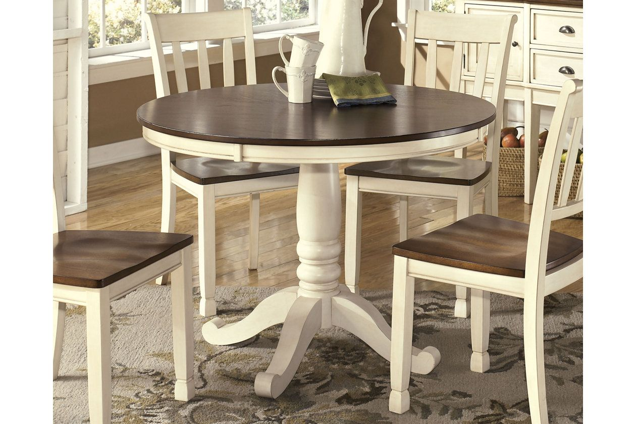 Whitesburg Table Top And Base Ashley Furniture Homestore In 2019