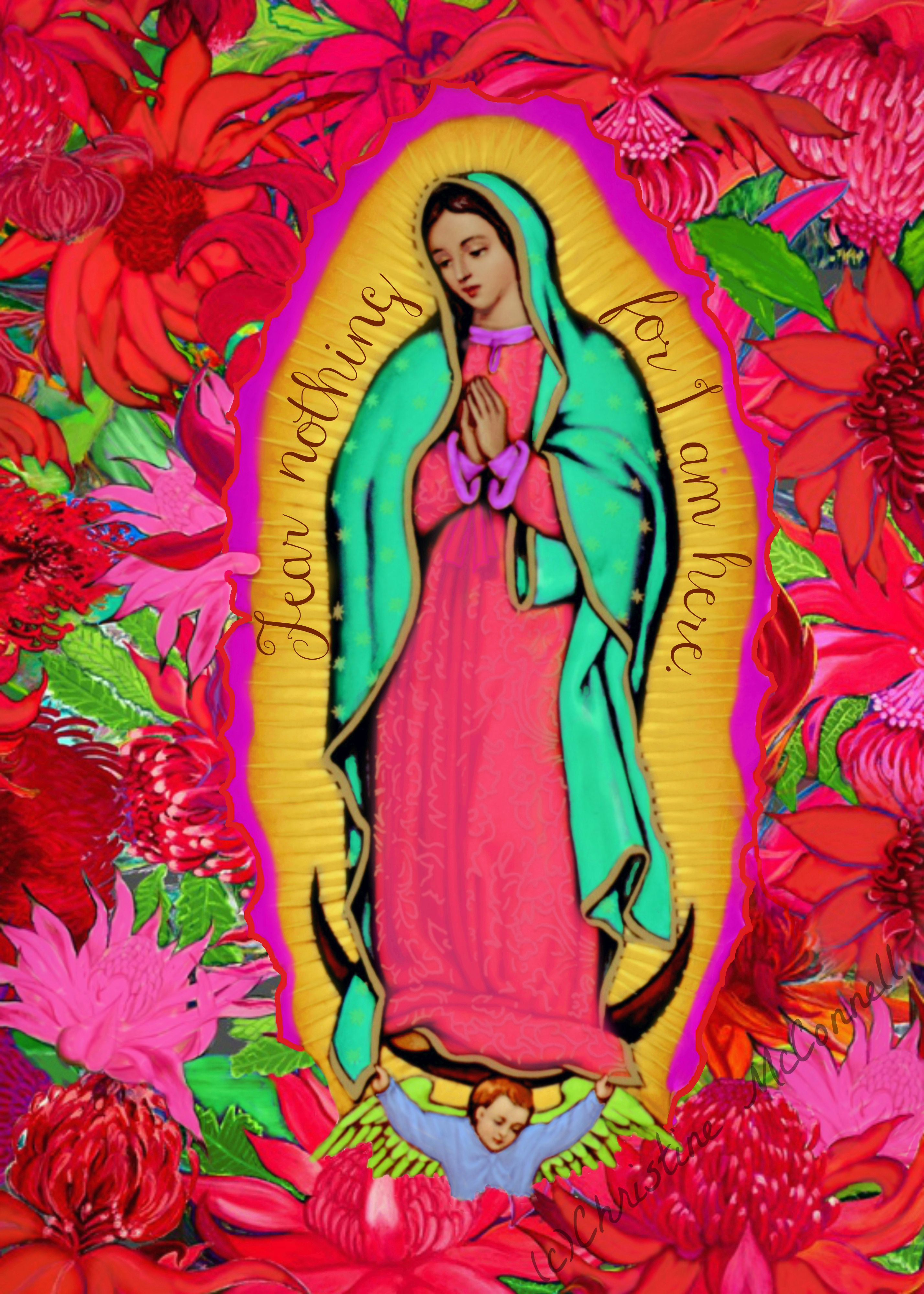 Our Lady Of Guadalupe Art Print From Tdecadencesy
