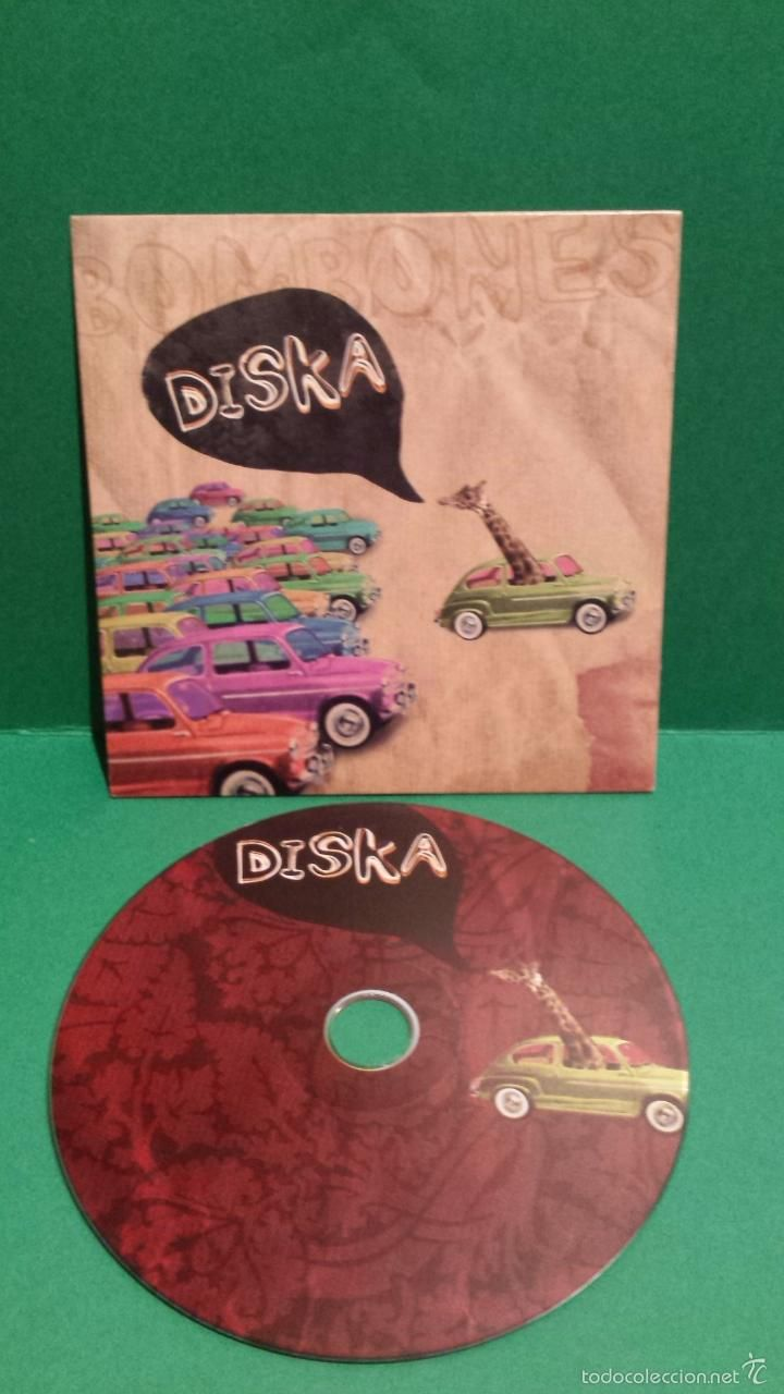 BOMBONES - DISKA. CD-PROMO / ROCK INDIANA - 2008. 11 TEMAS / BUENA CALIDAD