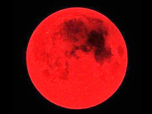 Resultado de imagen para luna roja