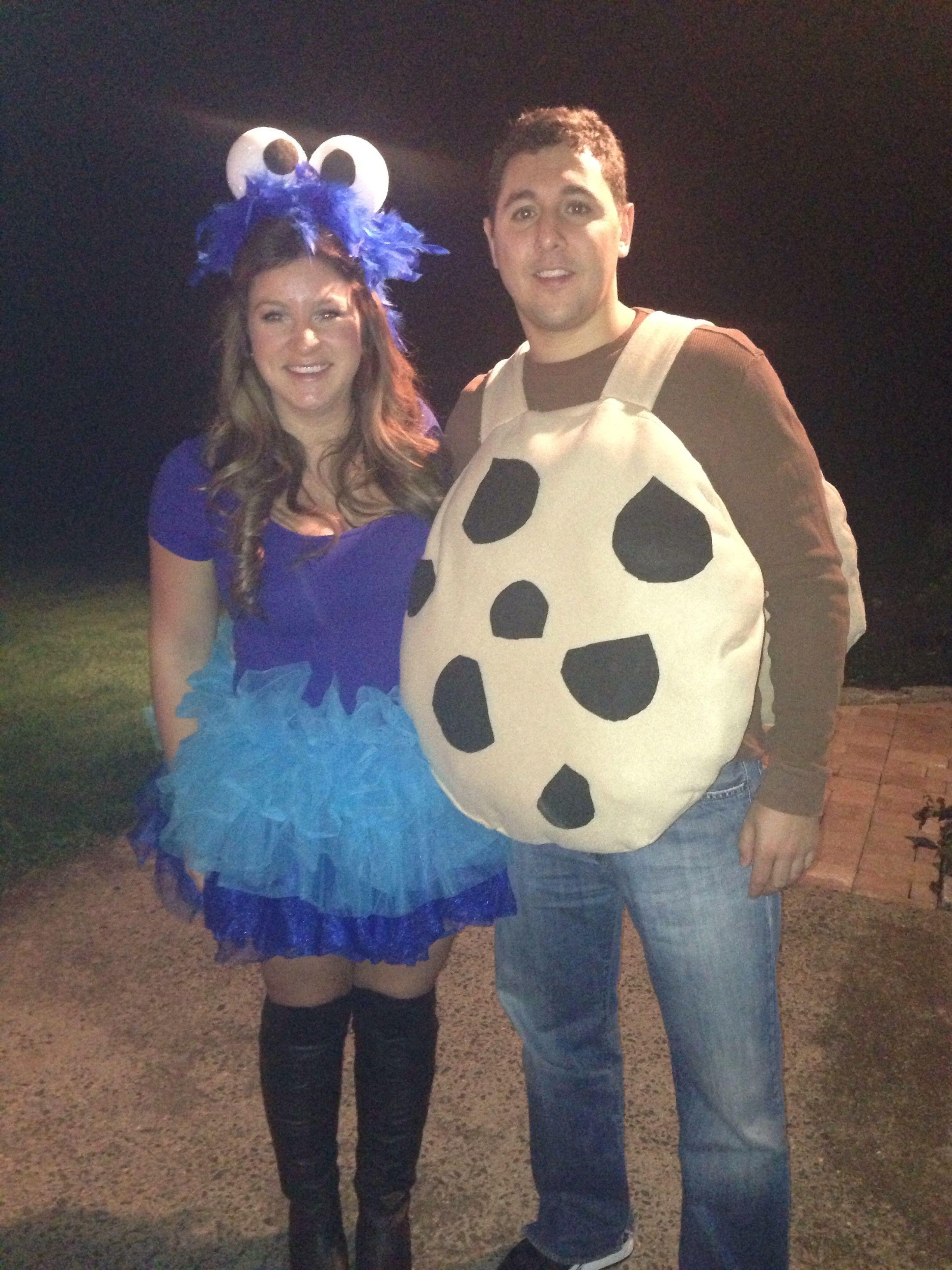 Monster Halloween Cookies: Best Couples Halloween Costume! Cookie Monster And Cookie