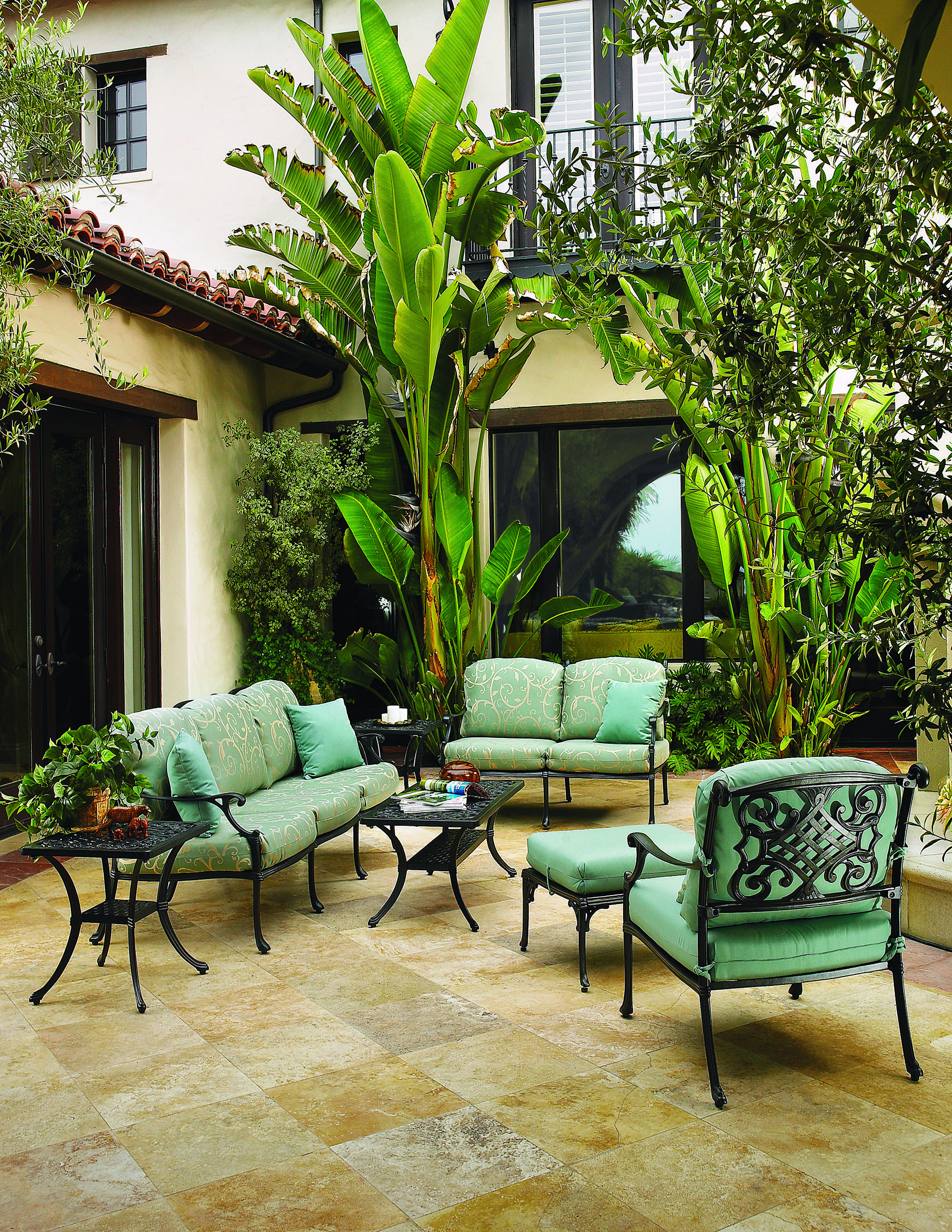 Ordinaire Elegant, Timeless, And Oh, So Comfortable, The Michigan Deep Seating  Collection From Gensun Casual Living With Sunbrella Outdoor Upholstery.