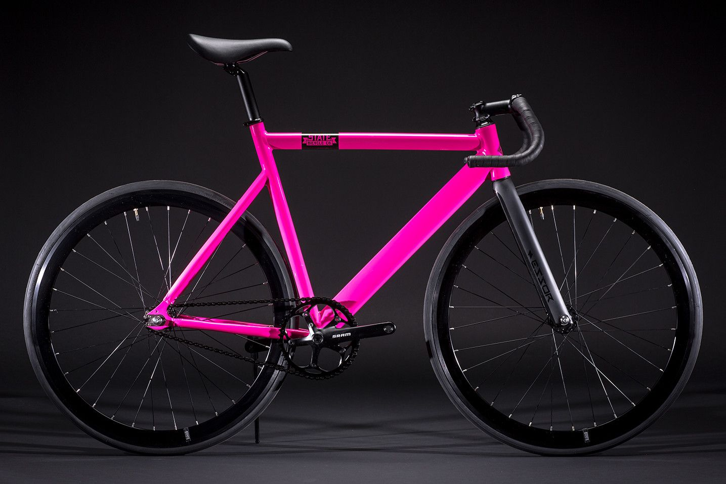 6061 Black Label - Hot Pink : Fixie Bikes   State Bicycle Co.