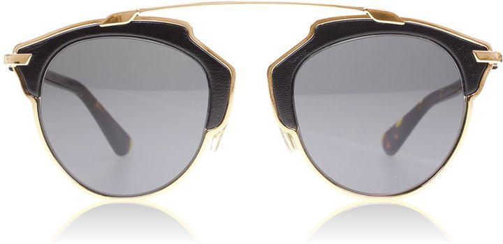 Christian Dior SoReal/L Sonnenbrille Roségold und Havanna P7P 48mm YLgpekBzk