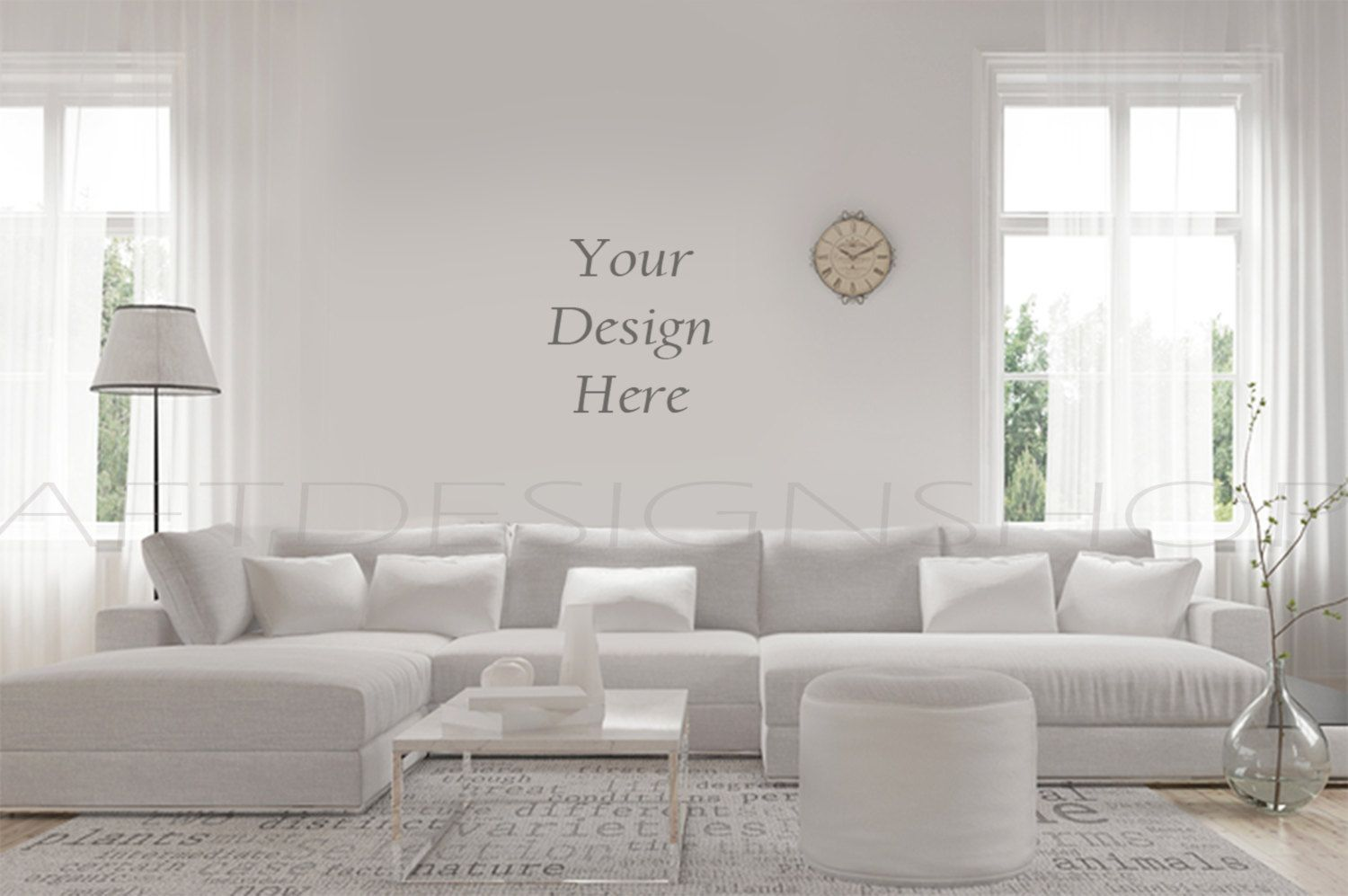 Terrific Blank Wall Mockup Styled Stock Ptohography Mock Up Sofa Gamerscity Chair Design For Home Gamerscityorg
