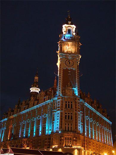 Le Beffroi De La Chambre De Commerce Et D Industrie De Lille Lille Chambre De Commerce Lille Photos Voyages