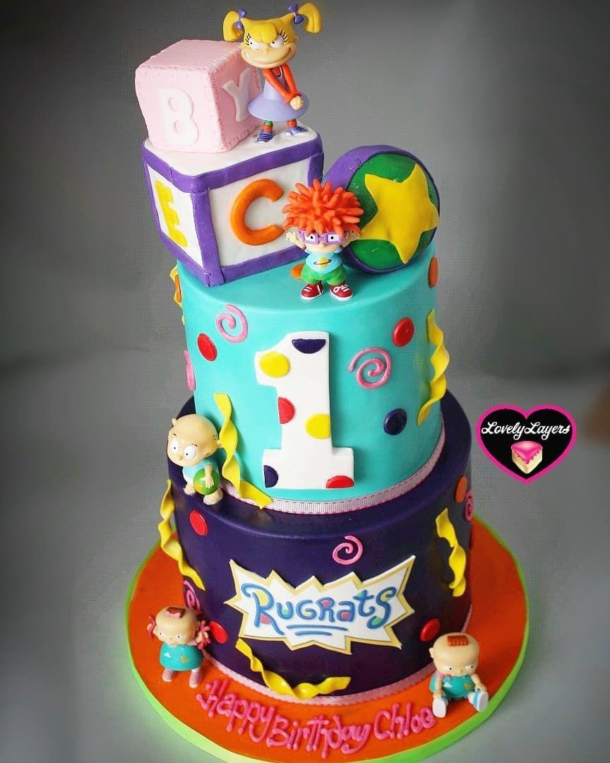 Terrific Located In Brooklyn New York On Instagram Rugrats Cake Love Funny Birthday Cards Online Necthendildamsfinfo