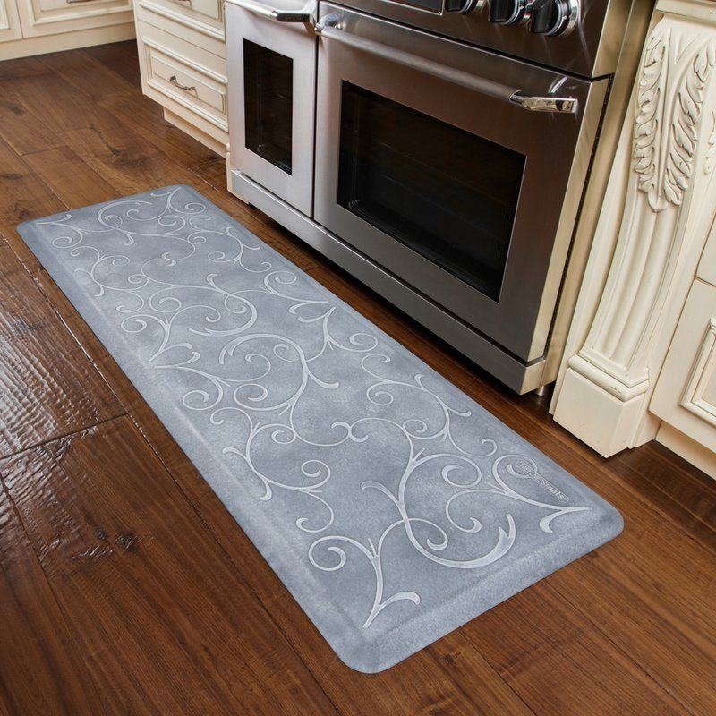 Classic Scroll Anti Fatigue Kitchen Comfort Mat Comfort Mats Kitchen Comfort Mat Kitchen Furnishings