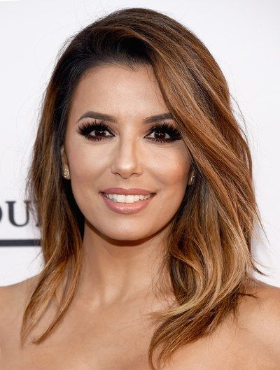 eva longoria often appears on the red carpet with stunning hairstyles the actress has chic. Black Bedroom Furniture Sets. Home Design Ideas