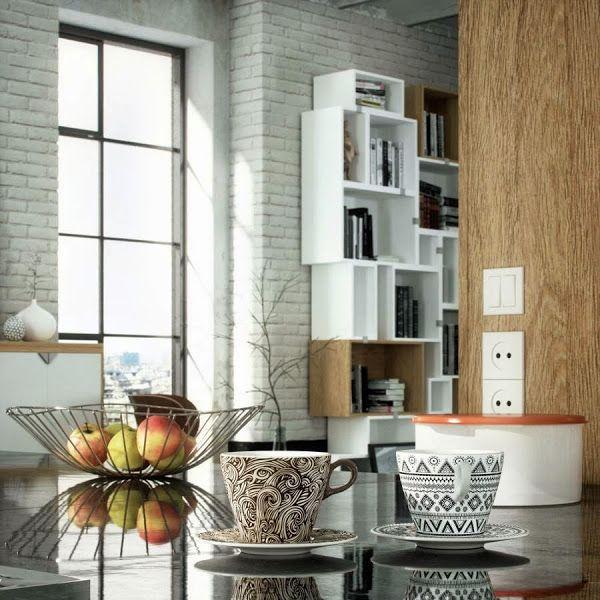 [Projects] Cocina Y Salón Integrados A Modo De Loft Industrial En Gama De  Neutros | Decorar Tu Casa Es Facilisimo.com