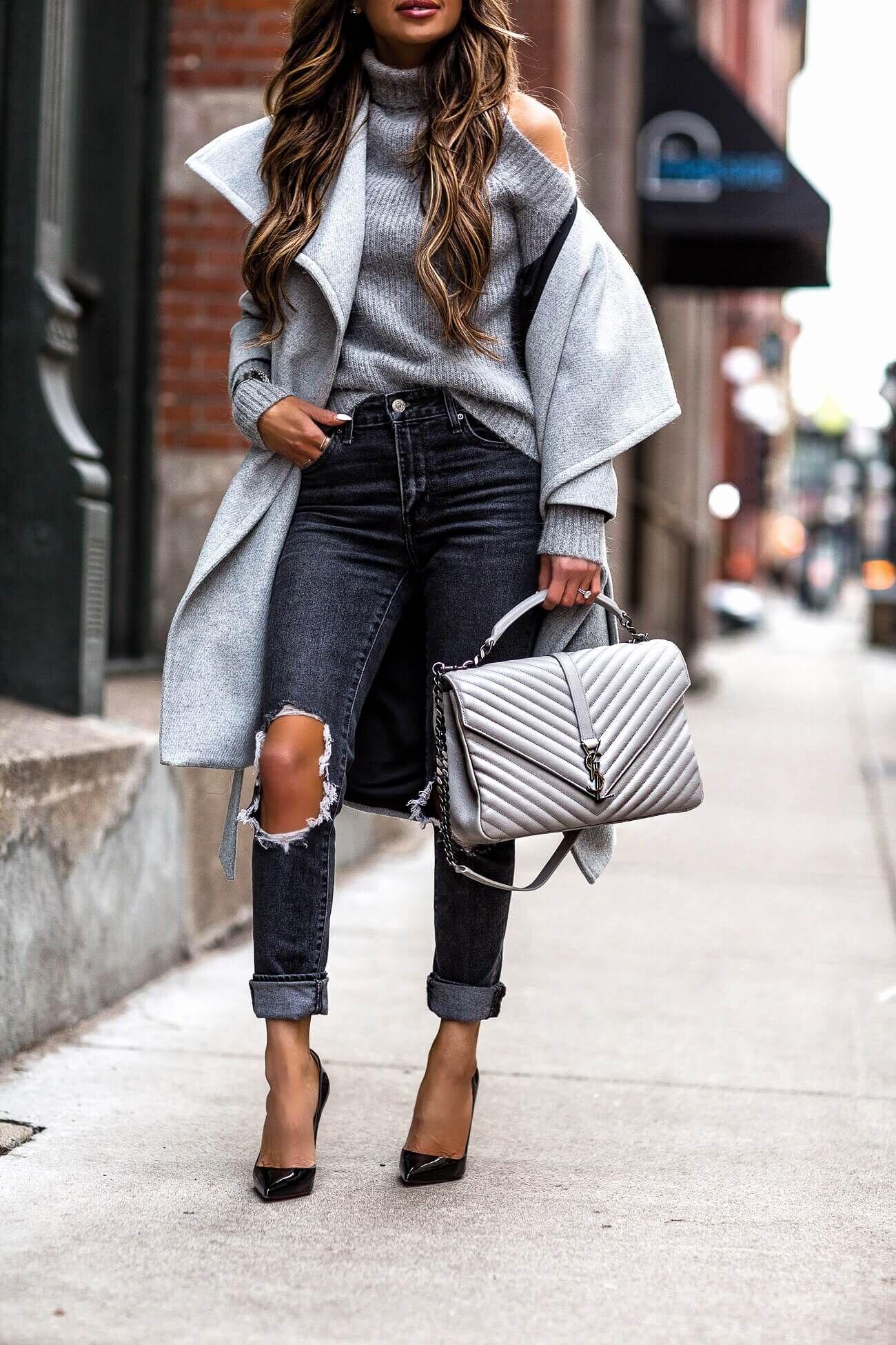fashion blogger mia mia mine wearing a ysl college bag and louboutin heels 0b25be4e7