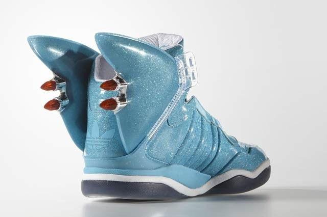Jeremy Scott X adidas Originals Shark Sneaker Freaker