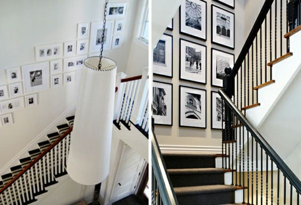 decoration cadre escalier mood pinterest decoration cadre escaliers et mur de cadres. Black Bedroom Furniture Sets. Home Design Ideas