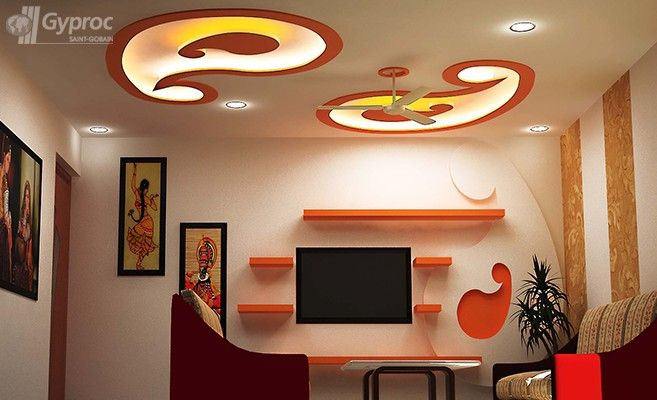 False Ceiling Designs For Living Room Saint Gobain Gyproc India