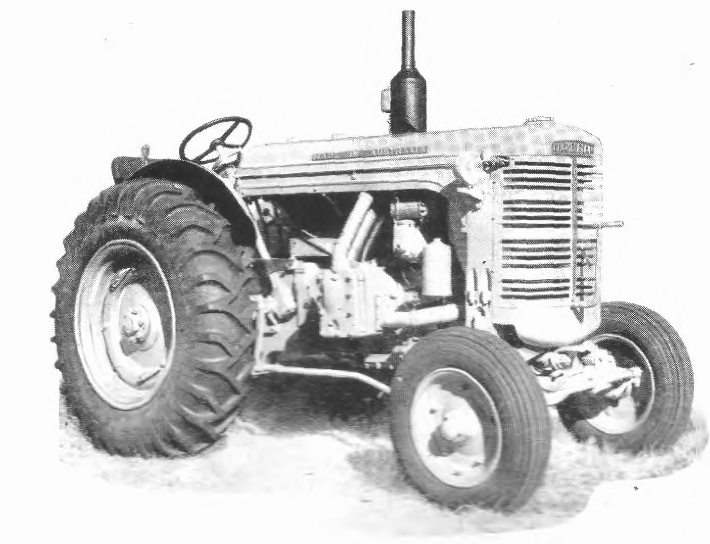 The Chamberlain 40K & KA tractors .Manuals are available at this site.