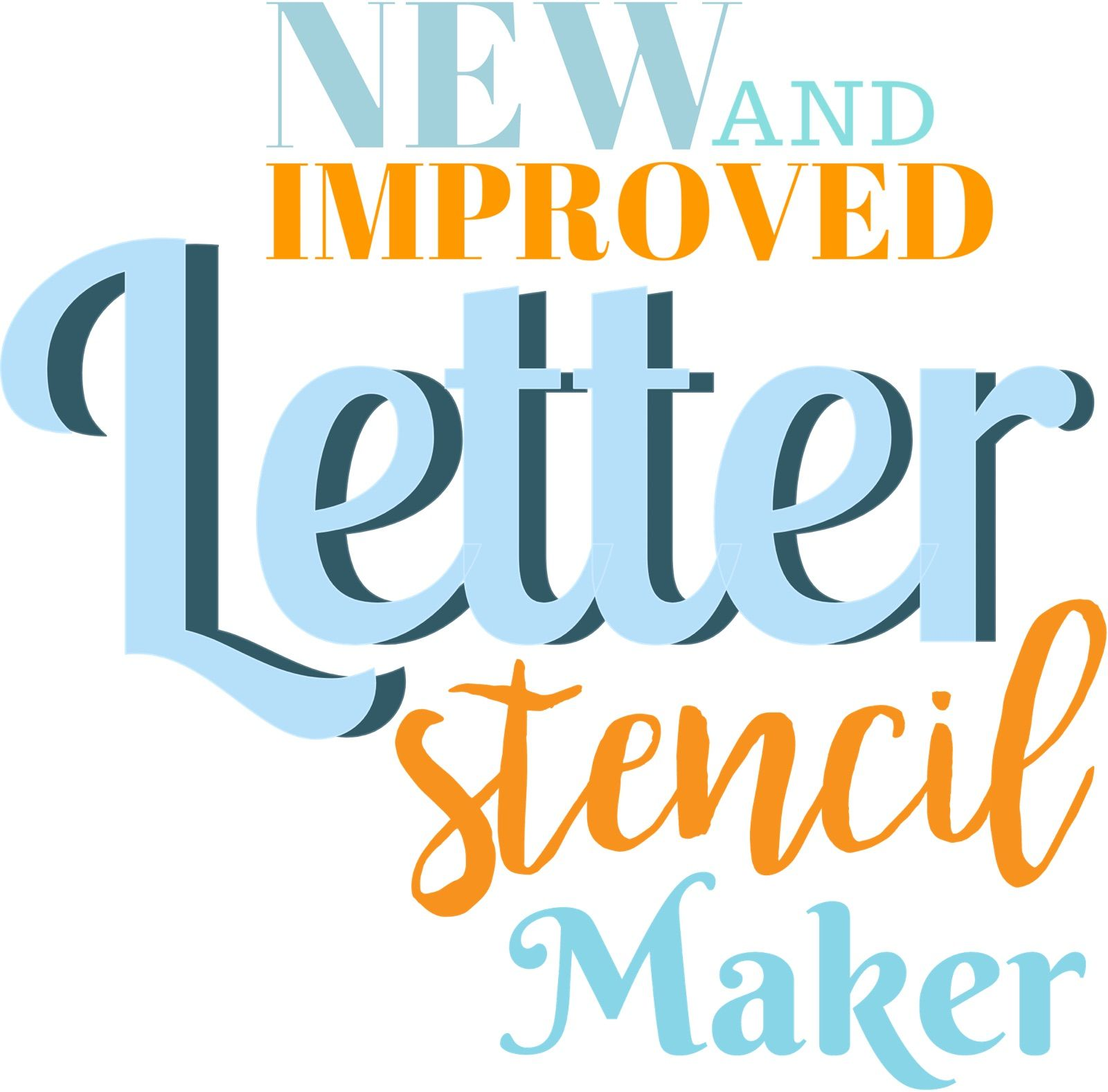 Have You Tried Our Free Letter Stencil Maker  Decorations Ideas
