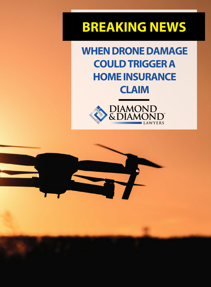 When drone damage could trigger a home insurance claim