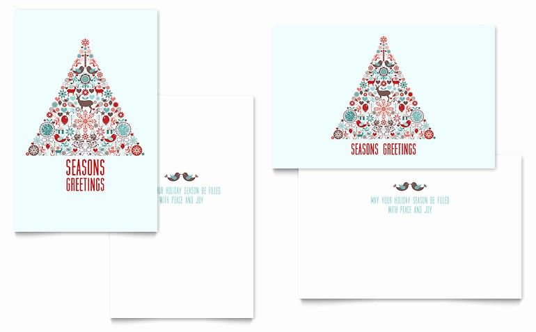 Ms Word Christmas Card Template Unique Holiday Art Greeting Card Template Word Pub Christmas Card Template Free Greeting Card Templates Holiday Card Template