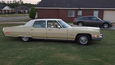 1973 Cadillac Fleetwood Brougham Fleetwood Brougham 60 Special 17K ORG Miles