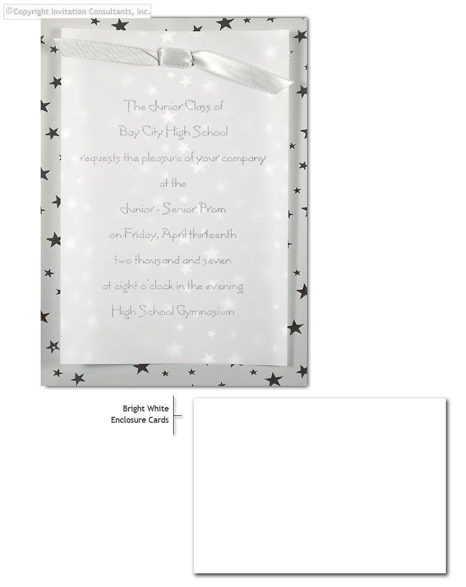 Silver Stars - Corporate Invitations by Invitation Consultants ...