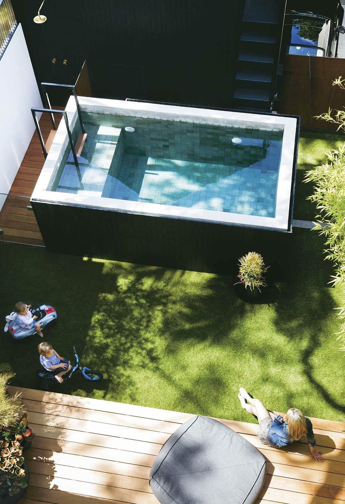 A Paddington Terrace Received A Modern Luxe Renovation Whirlpool Garten Wasserbecken Garten Pool Fur Kleinen Garten