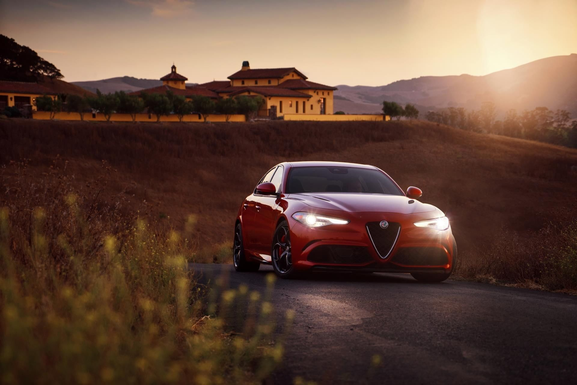 Alfa Romeo Giulia Quadrifoglio 2017 Car 1080p Wallpaper Hdwallpaper Desktop Alfa Romeo Giulia Quadrifoglio Alfa Romeo Giulia Giulia Quadrifoglio