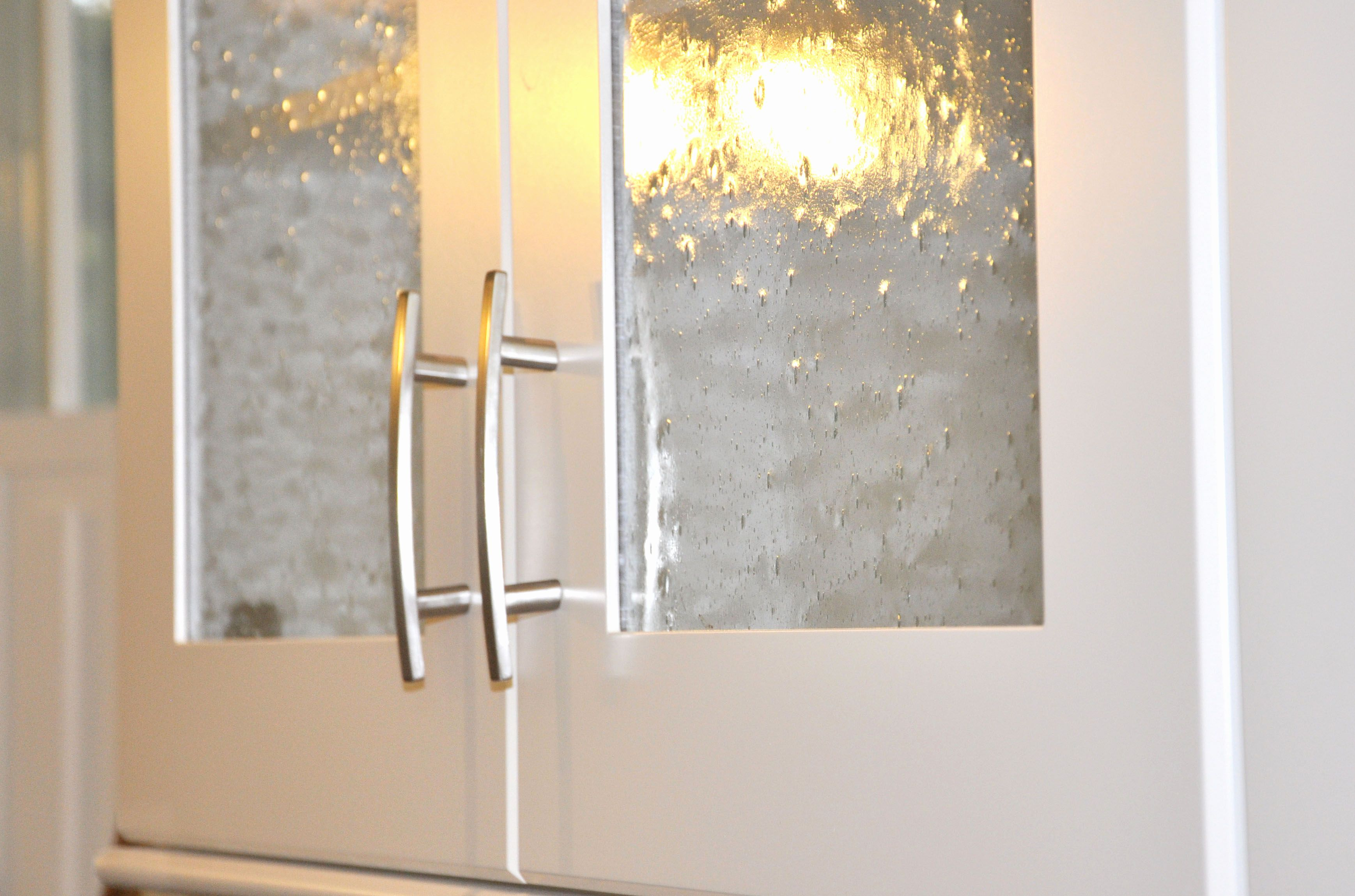 Image Result For Glass Types For Kitchen Cabinets Glass Kitchen Cabinets Glass Kitchen Cabinet Doors Seeded Glass Cabinets