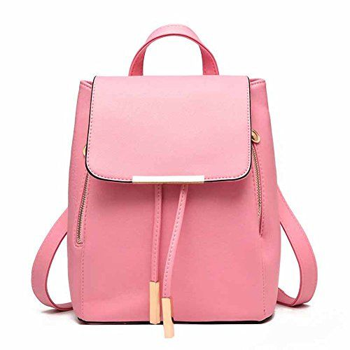 Girls Drawstring PU Leather Double Shoulder Backpacks, Satchel Rucksacks  for High Middle School College Women Students, Travel Hiking Picnic Climbing  ... b58b6dc680