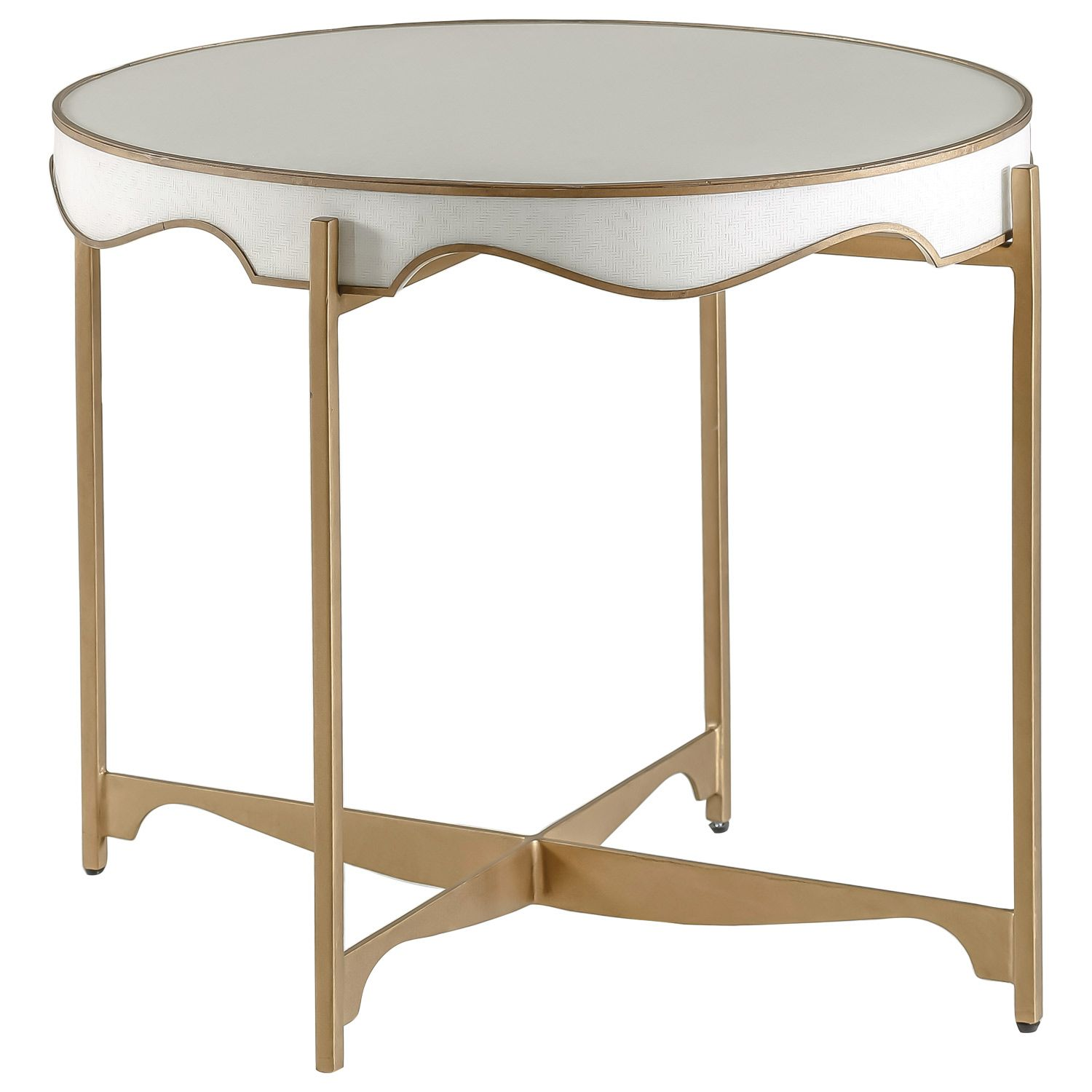 Gabby Furniture Trudy Oval Side Table #laylagrayce