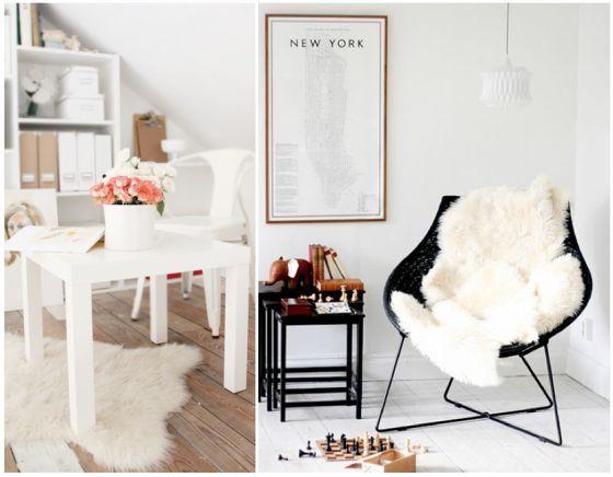 Rens Ikea Sheepskin Rug Courtesy Of Elements Style