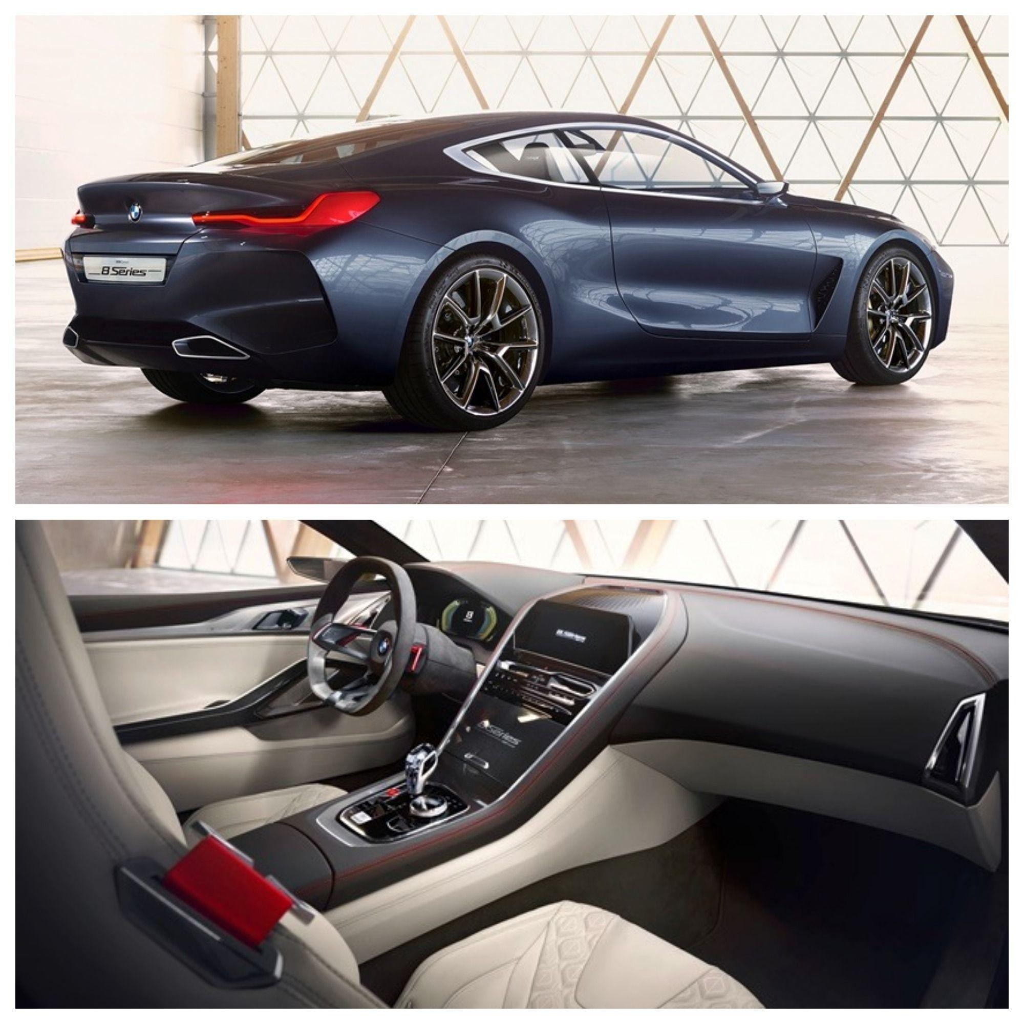 2018 BMW 8 Series Concept Bmw, Concept cars, Cars
