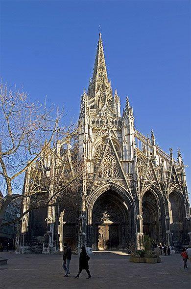 Eglise saint maclou normandie voyage normandie et photos - Saint maclou creteil ...