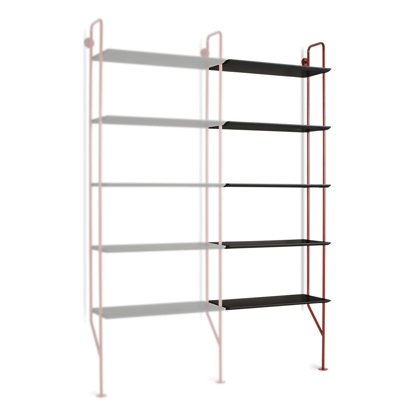 Hitch addon bookcase furniture pinterest ladder shelving unit