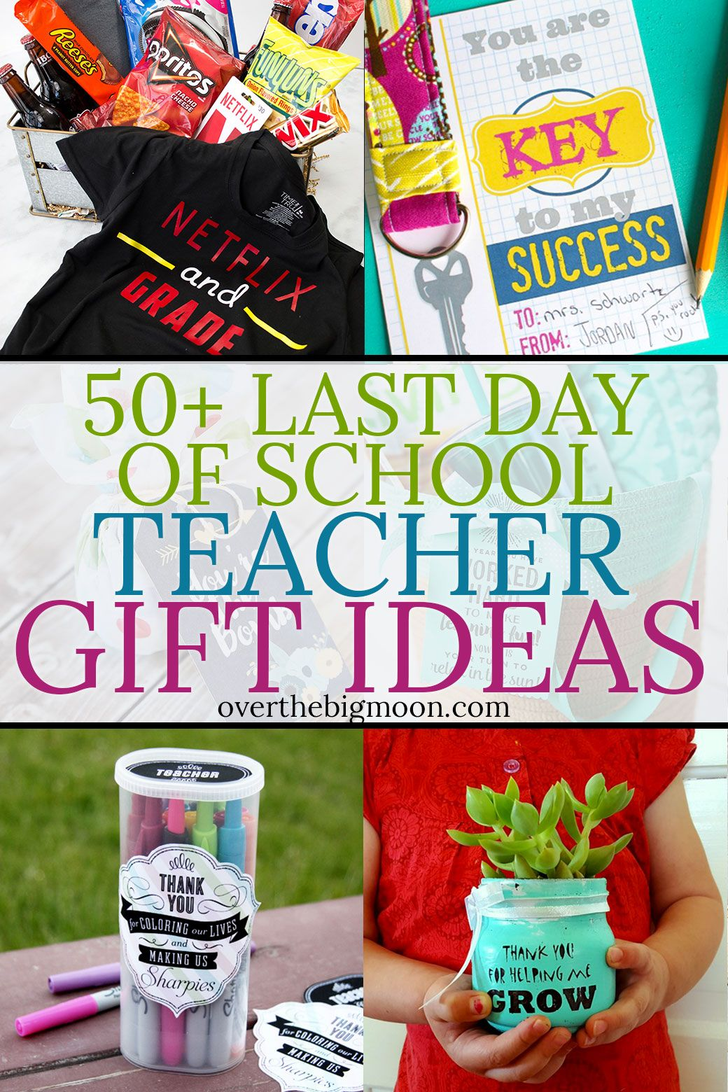 end of year teacher gifts diy