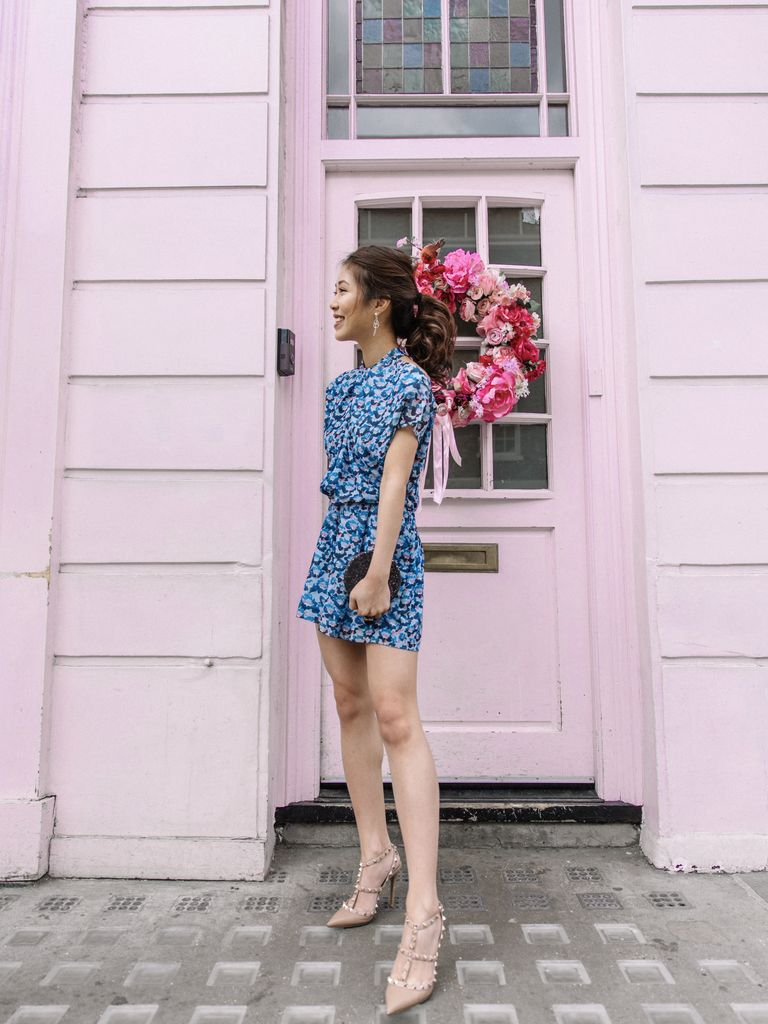 1b8323d2e2 KimBouy Tang wears the Loreta playsuit.