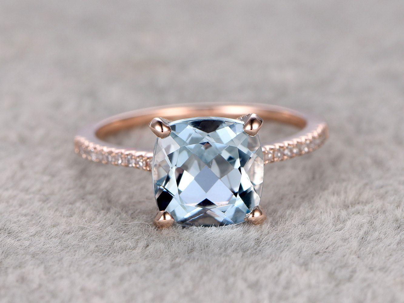 Jewelry & Watches Diamond Fine 2.3ct Round Cut Diamond Engagement Ring 14k White Gold Finish Flower Solitaire