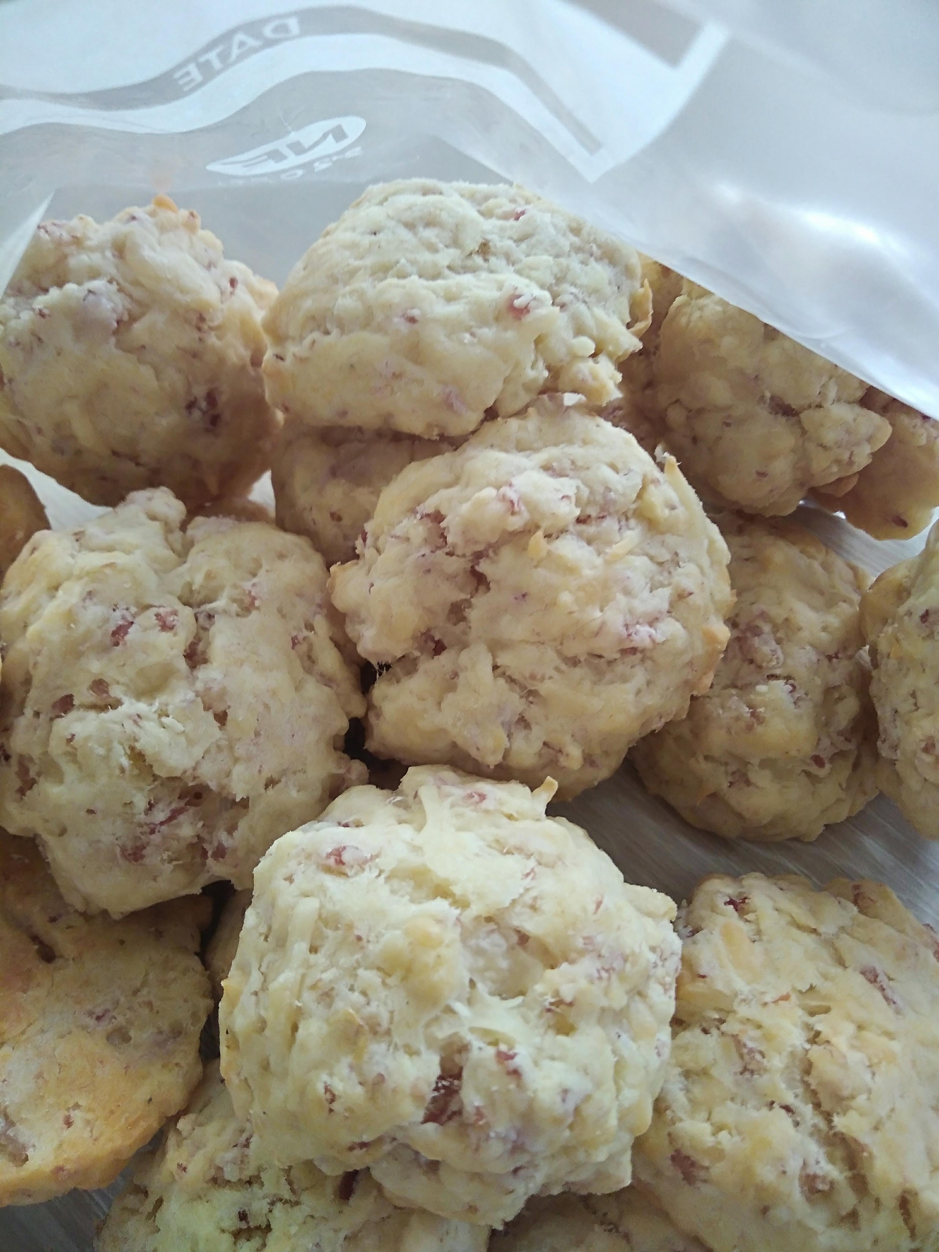 cookies sal s au jambon un ap ro en 5 minutes cuisine. Black Bedroom Furniture Sets. Home Design Ideas