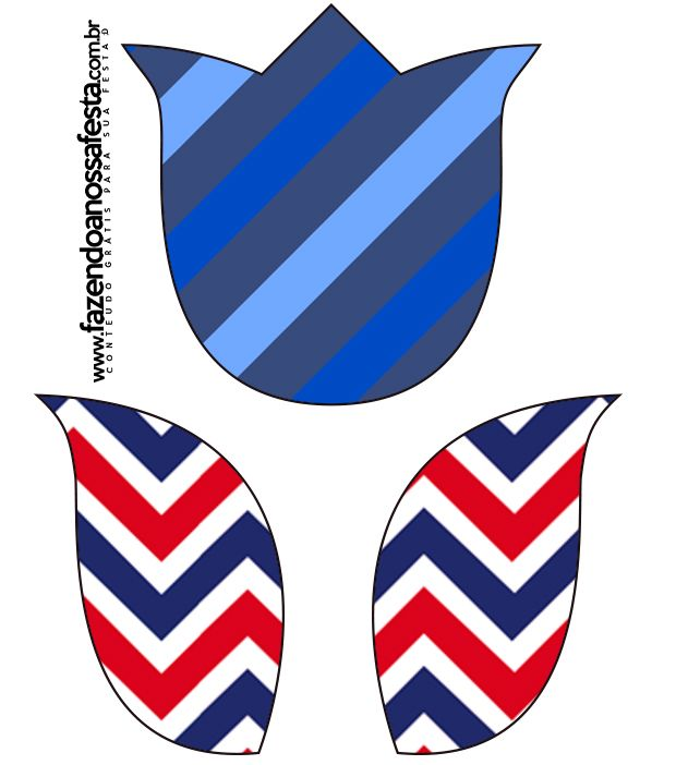 Tulipa  Fundo Marinheiro: