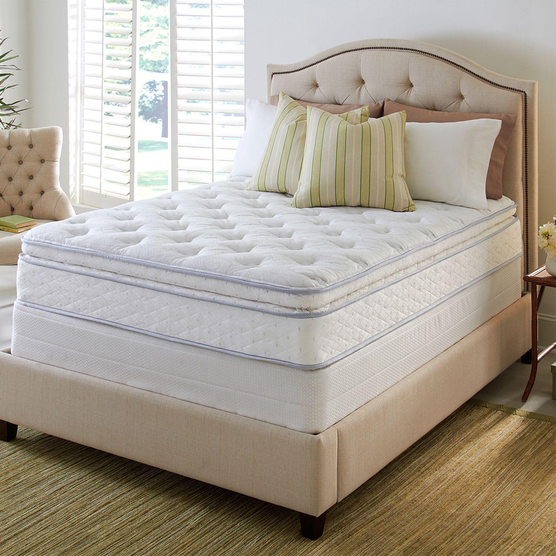 Serta Perfect Sleeper Hinsdale Plush Pillowtop Mattress Set King