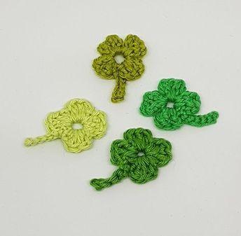 Photo of Crochet shamrock – free pattern