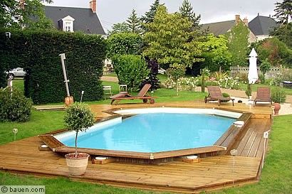 pool im garten garten pinterest gardens. Black Bedroom Furniture Sets. Home Design Ideas